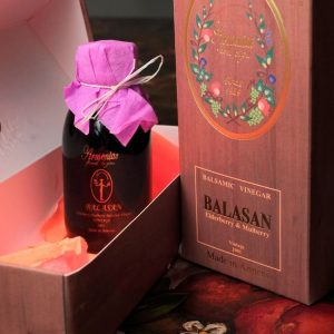 Balasan (Elderberry-Mulberry Balsamic Vinegar)