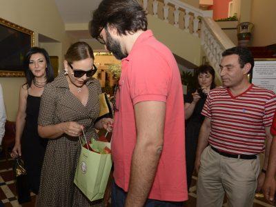 Armeniac Presented to Ornella Muti